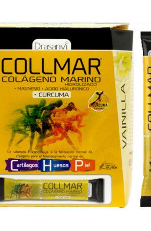 Collmar Magnesio Cúrcuma sabor vainilla – stick
