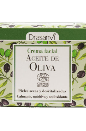 Crema facial d'oli d'Oliva Drasanvi