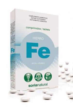 FERRO COMPRIMITS RETARD Soria Natural