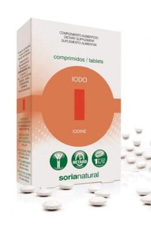 IODE COMPRIMITS RETARD Soria Natural