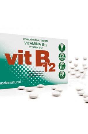 VITAMINA B12 COMPRIMITS RETARD Soria Natural