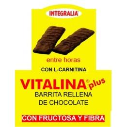 Barreta Vitalina Plus entre hores farcida Xocolata