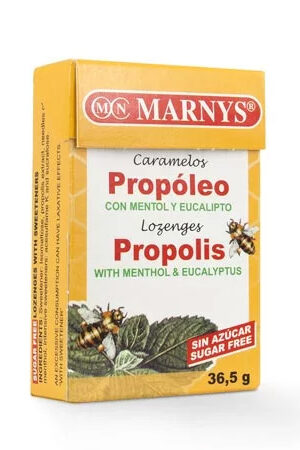 Caramels de Propoleo amb Mentol i Eucaliptus Sense Sucre