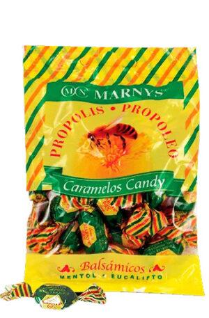 Caramels de Propóleo amb Mel, Mentol i Eucaliptus 1 Kg.