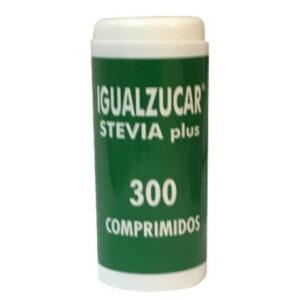 Igualzucar Stevia plus 300 comp