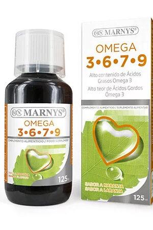 Omega 3, 6, 7, 9 125 ml Marnys