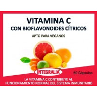 Vitamina C amb Bioflavonoides Cítrics Integralia
