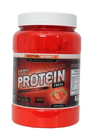 100% Protein Maduixa 1 Kg