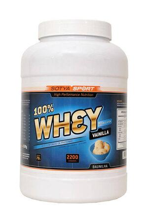 100% Whey Vainilla 2.2 Kg