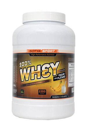 100% Whey Iogur amb plàtan 2.2 Kg