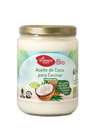 Oli de Coco per Cuinar Bio Granero Integral