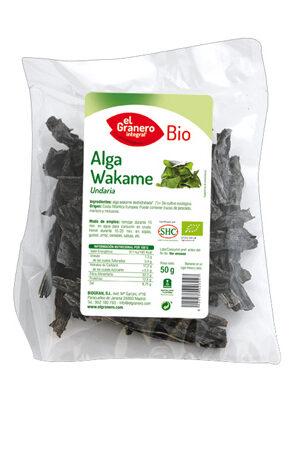 Alga Wakame Bio Granero Integral