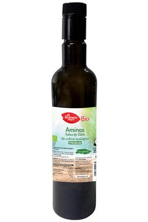 Aminos, Salsa de Coco Bio Granero Integral