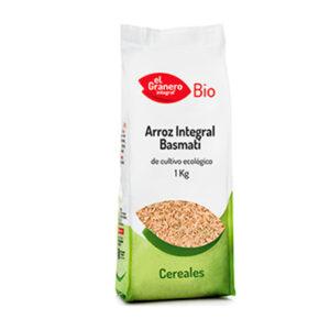 Arroz Integral Basmati Bio 1 Kg