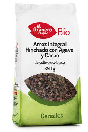 Arròs Integral inflat amb Atzavara i Cacau Bio Granero Integral