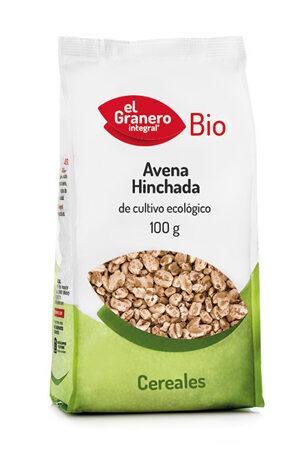 Civada Inflada Bio, 100 g Granero Integral