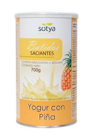 Batuts saciants Iogurt amb pinya Sotya