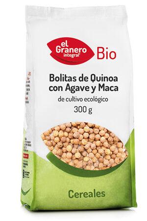 Bolitas de Quinoa con Ágave y Maca Bio Granero Integral