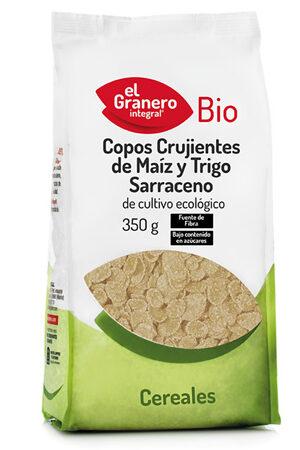 Flocs Cruixents de Blat de Moro i Blat Sarraí Bio Granero Integral