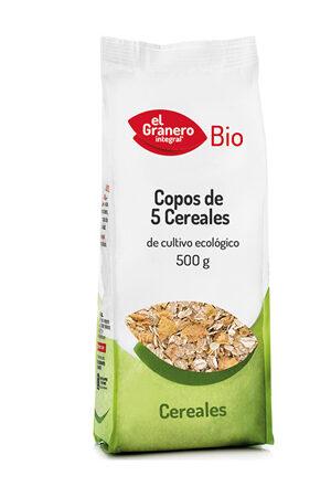 Flocs de 5 Cereals Bio Granero Integral
