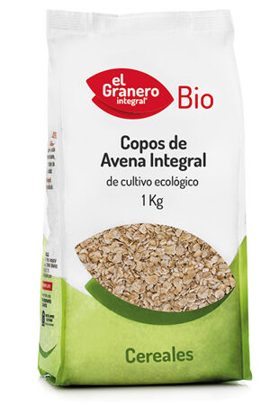 Flocs de Civada Integral Bio, 1 Kg Granero Integral