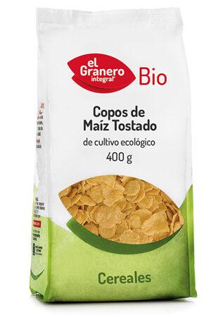 Flocs de Blat de Moro torrats Bio El Granero