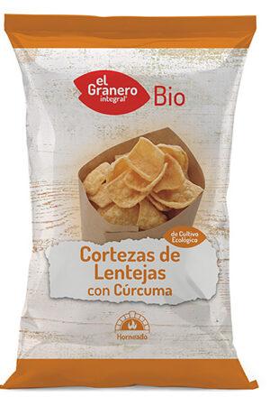 Cortezas de Lentejas con Cúrcuma Bio Granero Integral
