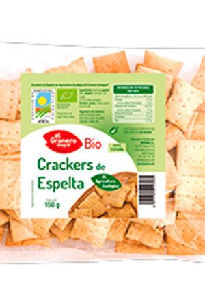 Crackers de Blat Espelta amb Sèsam Bio Granero Integral