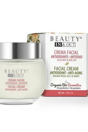 Crema Facial Antioxidant Antiedat Beauty In&Out