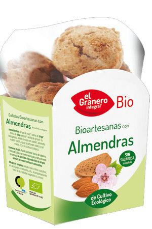 Galetes Artesanes amb Ametlla Bio Granero Integral