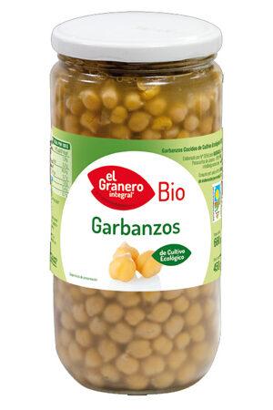 Cigrons cuits Bio Granero Integral