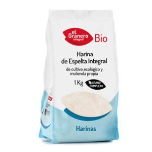 Harina de Trigo Espelta Integral Bio 1 Kg