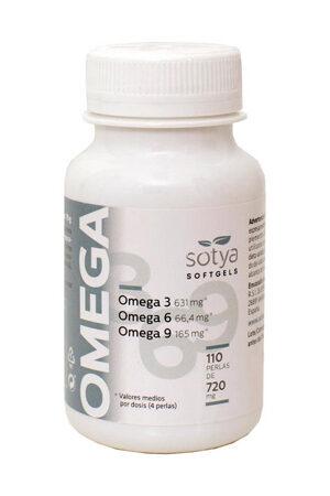 Omega 3, 6, 9  50 perles de 1400 Sotya