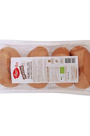 Panets amb Blat Sarraí sense Gluten Bio Granero Integral
