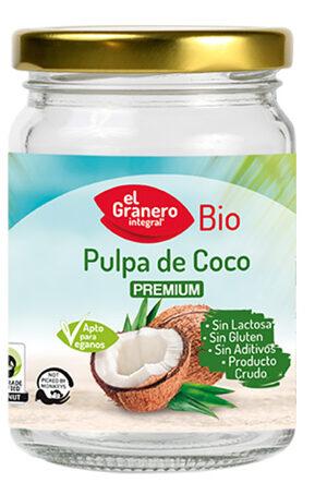 Polpa de Coco Bio, 500 ml Granero Integral