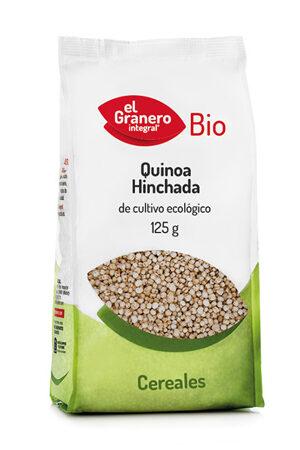 Quinoa Inflada 125 Bio, Granero Integral