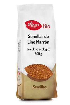 Llavors de lli marró Bio, 500 g Granero Integral