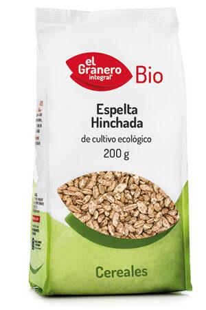 Blat Espelta Inflat Bio, 200 g Granero Integral