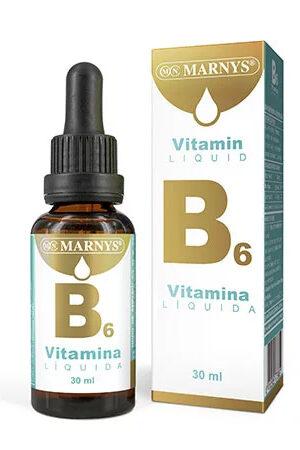 Vitamina B6 Líquida Marnys
