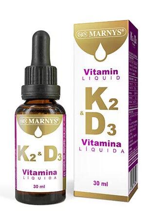 Vitamina K2-D3 Líquida Marnys