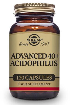 40 Plus Acidophilus Avançat Probiòtic Solgar – 120 Cáps
