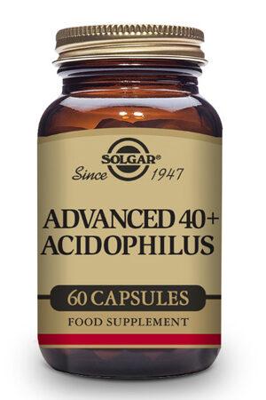 40 Plus Acidophilus Avançat Probiòtic Solgar – 60 Cáps
