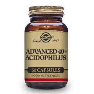 40 Plus Acidophilus Avanzado - 60 Cáps