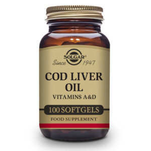 Aceite de Hígado de Bacalao 100 perlas