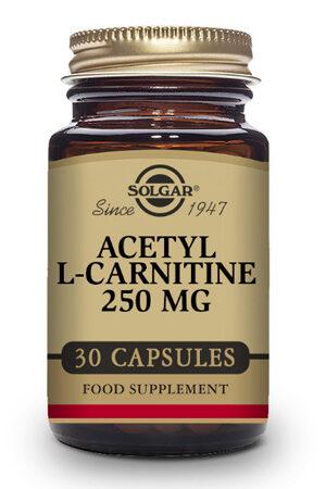 Acetil – L-Carnitina 250 mg Solgar