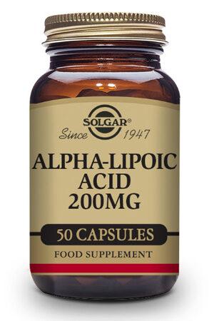 Ácido Alfa-Lipoico 200 mg Solgar