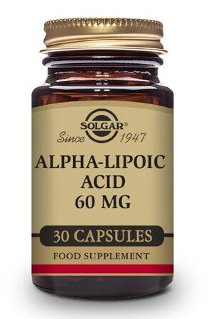 Àcid Alfa-Lipòic 60 mg Solgar