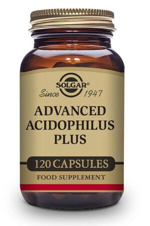 Acidophilus Plus Avançat Solgar – 120 Cáps