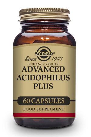 Acidophilus Plus Avançat Solgar – 60 Cáps