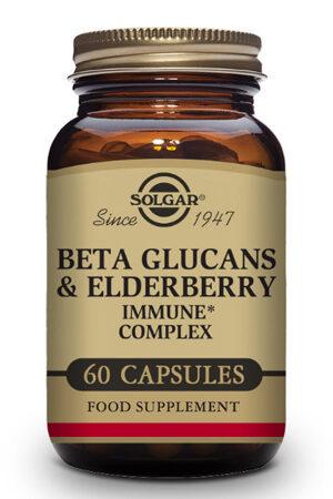 Beta Glucanos Inmune Complex con Saúco